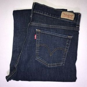 Levi's 512 Perfectly Slimming Boot Jeans 14 M 31